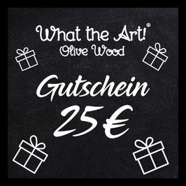Geschenkkarte 25€