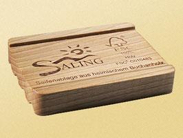 Porte savon en bois de Hêtre, 100% FSC