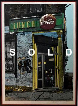 鈴木英人「LUNCH」 シルクスクリーン15号 真作保証 激レア 30部限定 現代アート人気作家