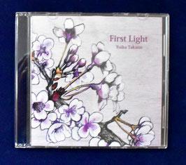 音楽CD「First Light」 POWER OF TREE  ヴァイオリンとギターのインストゥルメンタル 制作の一環で自ら手掛けた音楽作品!