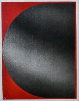 泉茂 「Rー1」 キャンバスにアクリル F6号 真作保証 大坂芸術大学名誉教授 見飽きることのない表情をもつ逸品 コンテンポラリー