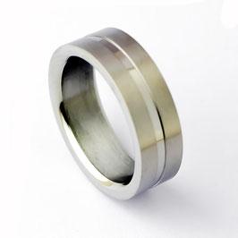 RH7-36 Edelstahl Ring matt/poliert