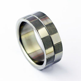 RH8-90 Edelstahl Ring