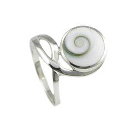 R1082 Silberring mit Shiva Auge