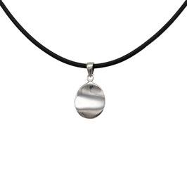 D1092 Silber Anhänger Plättchen