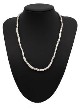 C422 Silber Collier massiv