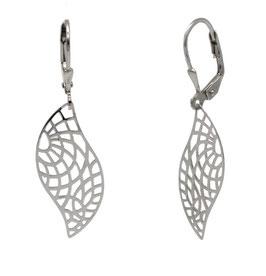 AP1071 Silber Ohrhänger Filigranes Muster