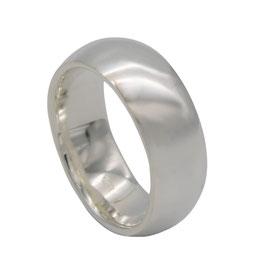 R988 Silberring poliert