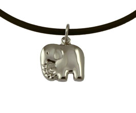 SA424 Edelstahl Anhänger Elefant