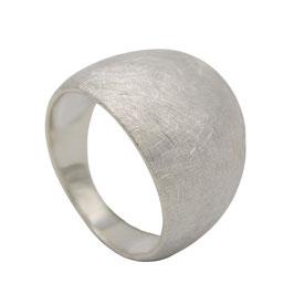 R921 Silberring eismatt