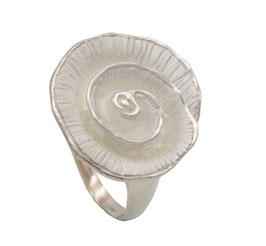 R940 Silberring Spirale