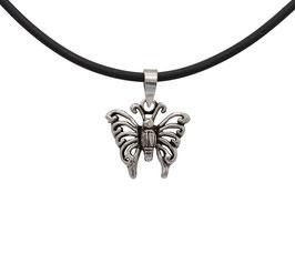 D1029 Silber Anhänger Schmetterling