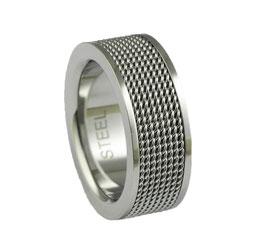 RH395 Edelstahl Ring
