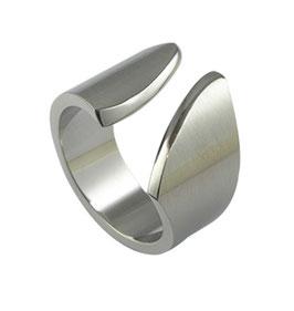 RH399 Edelstahl Ring offen