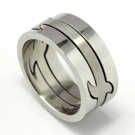 RH8-04 Edelstahl Ring