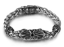 SB364 Edelstahl Armband Kreuz