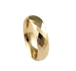 RH386-R Edelstahl Ring Rosé