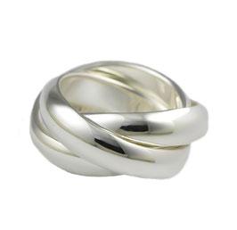 R977 Silberring Dreifach