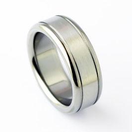 RH8-89 Edelstahl Ring
