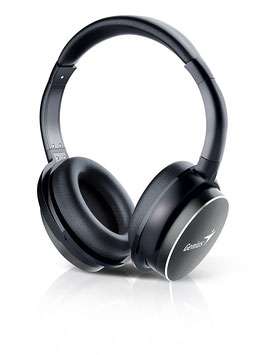 Audifonos Genius HS-940BT, Bluetooth, Black