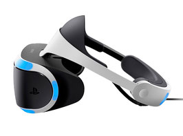 "PlayStation VR CUH-ZVR1, 5.7"" OLED, 3D, 1920x1080, 120 fps, microfono, HDMI, USB."