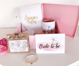 """Geschenkset """"Bride to be"""""""
