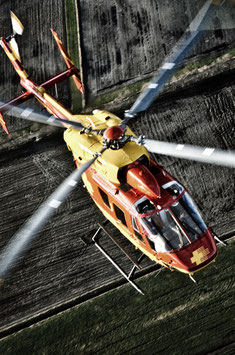 Airbus Helicopter BK117 trial flight (approx. 30 min.)