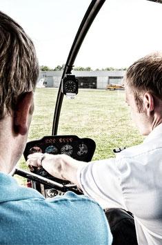 За штурвалом вертолёта Robinson R44  (ок. 30 мин.)