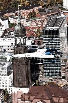Обзорный полёт над Гамбургом (ок.20 Мин.)