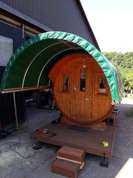 Campingfass Modell 400 vormontiert