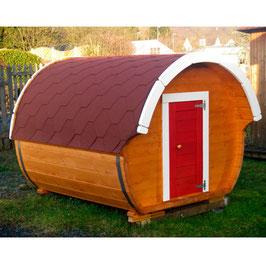 Campingfass mit Vordach für Kinder
