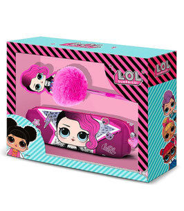 3X SET COFFRET STYLO TROUSSE LOL SURPRISE ROCK  à € 10.90