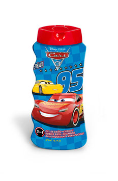 6X GEL DOUCHE & SHAMPOING CARS 475ML à € 2.90