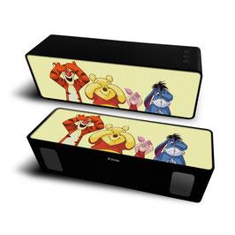 2X Haut-parleur stéréo portable sans fil 10W 2.1 WINNIE L'OURSON & SES AMIS à € 18.97