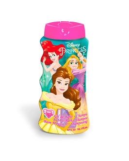 6X GEL DOUCHE & SHAMPOING PRINCESSE 475ML à € 2.90