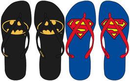 10X TONGS Batman / Superman pour enfants 28-37 à € 2.18