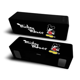 2X Haut-parleur stéréo portable sans fil 10W 2.1 MICKEY MOUSE DISNEY Black à € 18.97