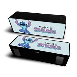 2X Haut-parleur stéréo portable sans fil 10W 2.1 STITCH Disney Blue à € 18.97