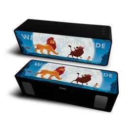 2X Haut-parleur stéréo portable sans fil 10W 2.1 SIMBA & SES AMIS à € 18.97