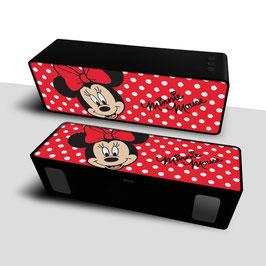 2X Haut-parleur stéréo portable sans fil 10W 2.1 MINNIE MOUSE Disney Red à € 18.97