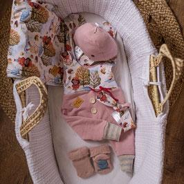"""❤ Highline Baby Komplettset """"rosa Herbstmädchen"""""""