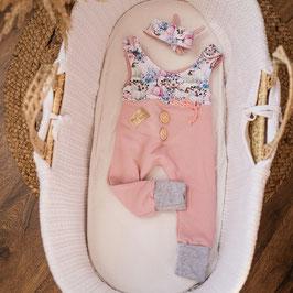 "❤ Highline Baby Set rosa  ""Strampler Kürbis"""