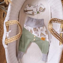 """❤ Highline Baby Set grün """"Winterzeit"""""""