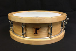"#08 . Birch 8ply / 13""x4.5""  Snare Drum (w/Wood Hoop)"