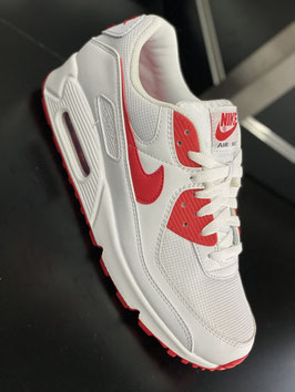 Air Max 90 - White-Red