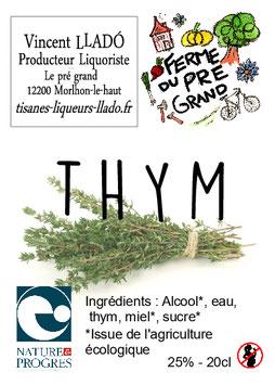 Liqueur de Thym
