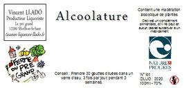 Alcoolatures