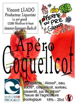 Apéro Coquelicot
