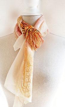 Schutzengel - Schal aus Seide