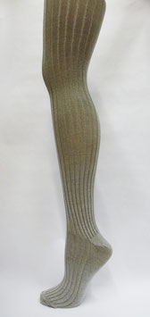 Ribbed Silk Stockings